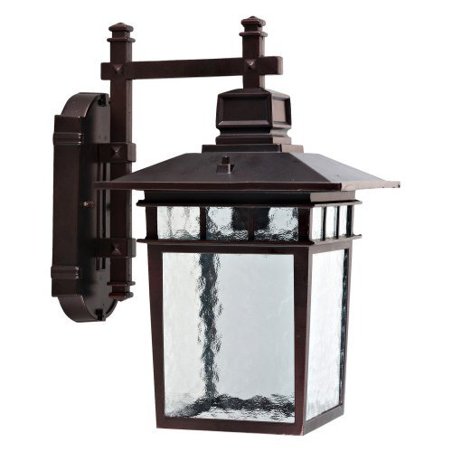 Yosemite Home Decor 2072LDIORB Outdoor Wall Sconce