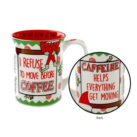 Name Coffee - Our Name Is Mud MUG ELFIN COFFEE Mug