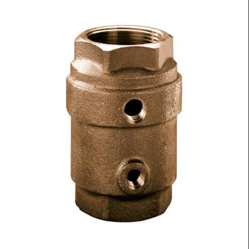 Water Source CCC-125NL Control Center Check Valve, Brass, 1-1/4-In.