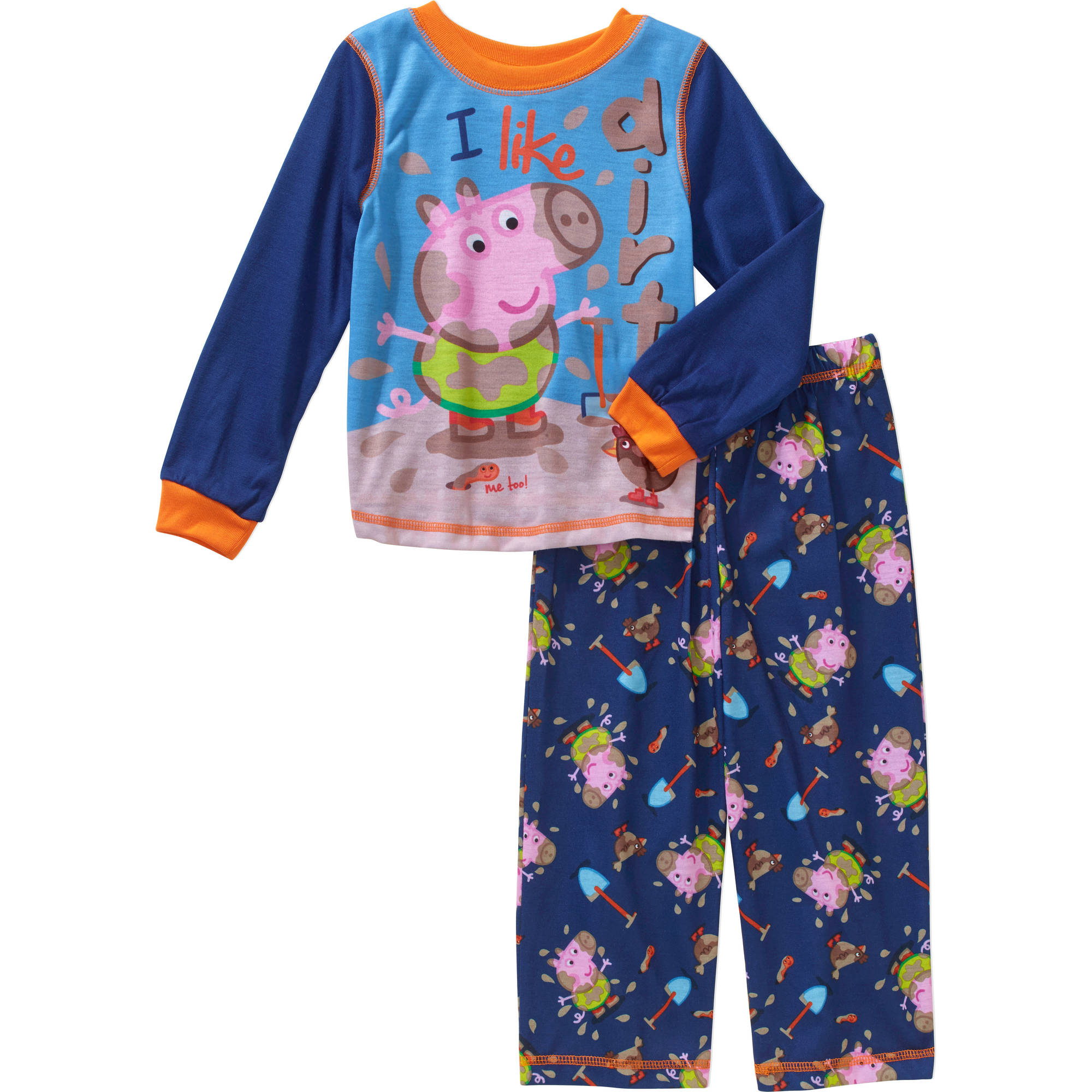 Peppa Pig Toddler Boys' George Pajamas 2-Piece Set