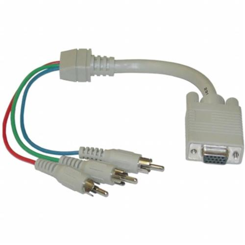 CableWholesale 30H1-50300 VGA to RCA Component Video Cable