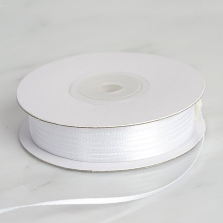 "Efavormart Multiple Colors Wedding Party Decoration 1/16"" Single Face Satin Ribbon 100yds"