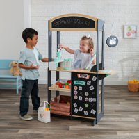 Overstock.com deals on KidKraft Lets Pretend Shopkeeper Stand