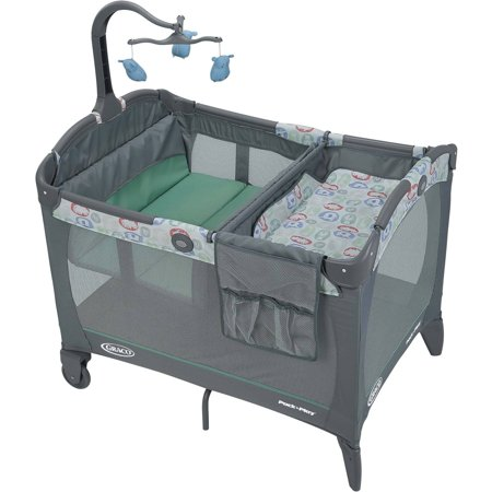 Graco Pack N Play Playard With Change N Carry Changer  Cleo