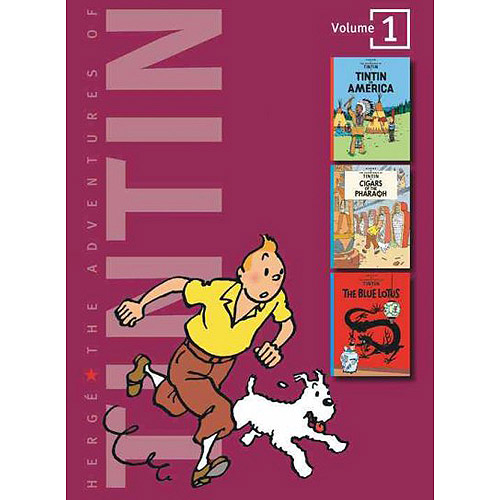 Adventures of Tintin: Tintin in America/Cigars of the Pharaoh/the Blue Lotus