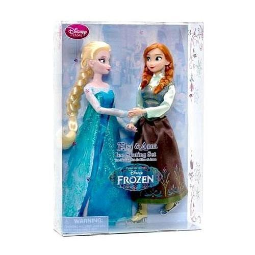 Disney Frozen Elsa & Anna Ice Skating Set
