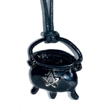RBI Jewelry Black Cauldron Focus Your Magical Efforts Amulet Talisman