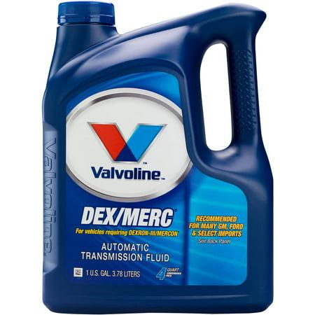 - Valvoline DEX/MERC Automatic Transmission Fluid, 1 Gallon