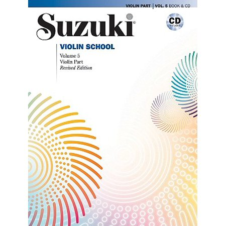 Suzuki Violin School, Vol 5 : Violin Part, Book & CD