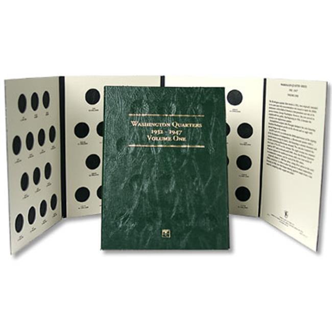 Littleton Coin LCF12 Washington Quarter Folder 1932-1947- Case of 50