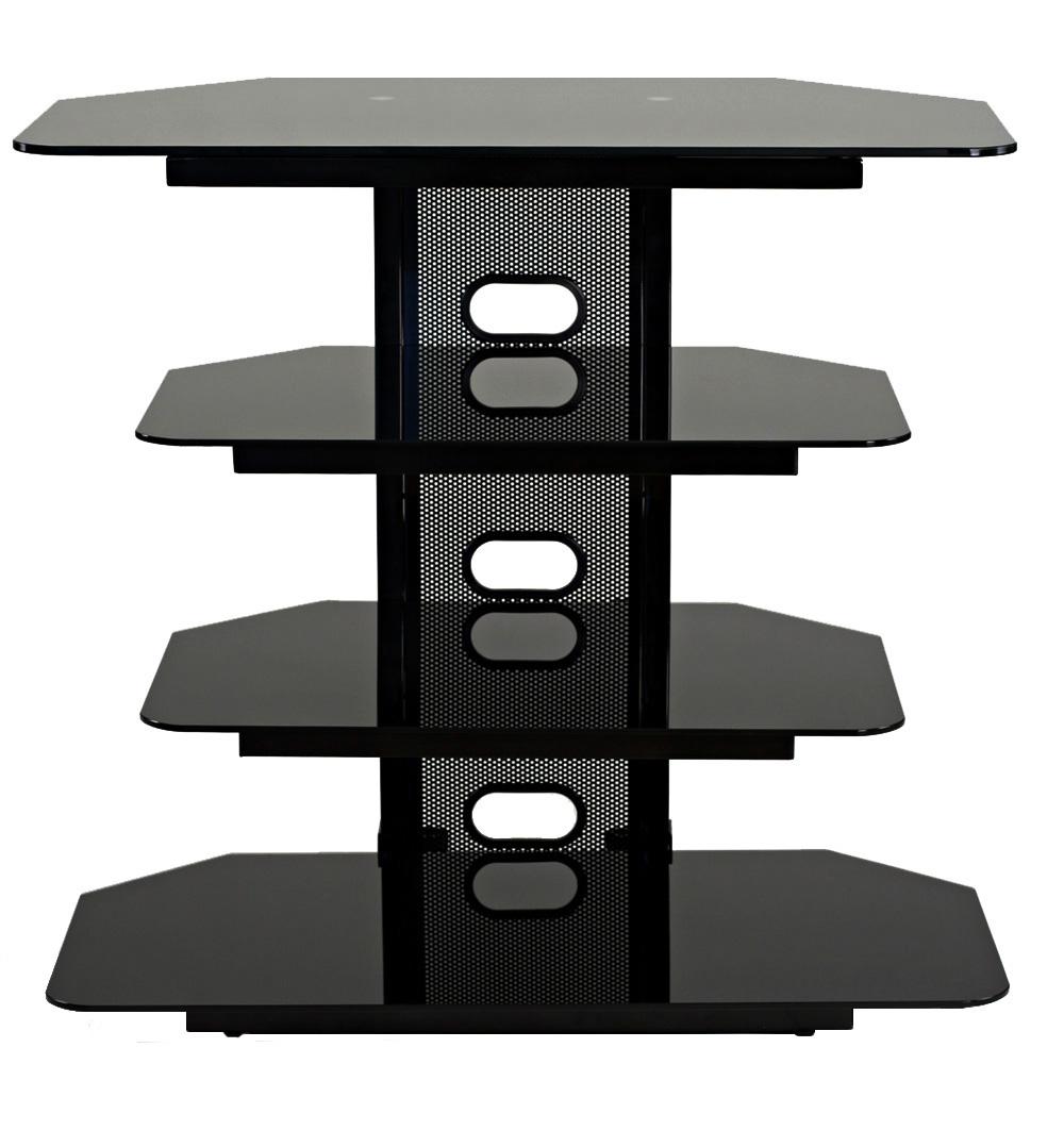 TransDeco Corner TV Stand Multifunctional AV Shelves for Up to 35-Inch Plasma/LCD/LED TV