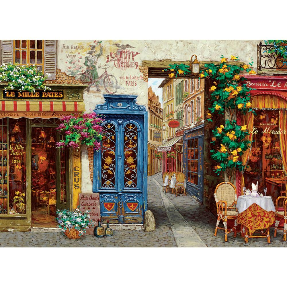 Rue Lafayette 1000 Piece Puzzle,  France by Go! Games