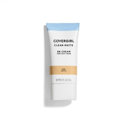 COVERGIRL Clean Matte BB Cream, 540 Medium