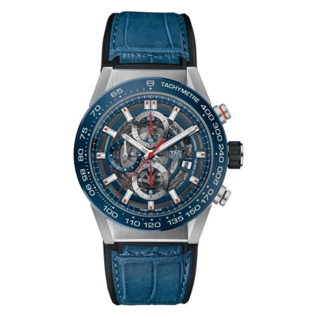 Tag Heuer Carrera Automatic Chronograph 43mm Mens Watch CAR201T.FC6406 Tag Heuer Carrera Chronograph CAR201T.FC6406