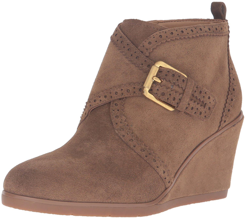 Franco Sarto Womens Arielle Leather Closed Toe Ankle Fashion Boots Fashion Bo... by Franco Sarto