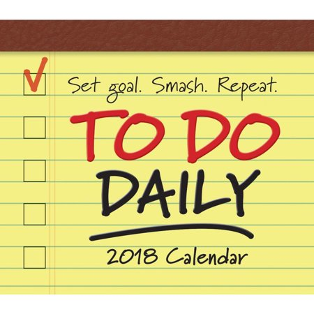 To Do Daily Desk Calendar Inspirational Quotes By Sellers