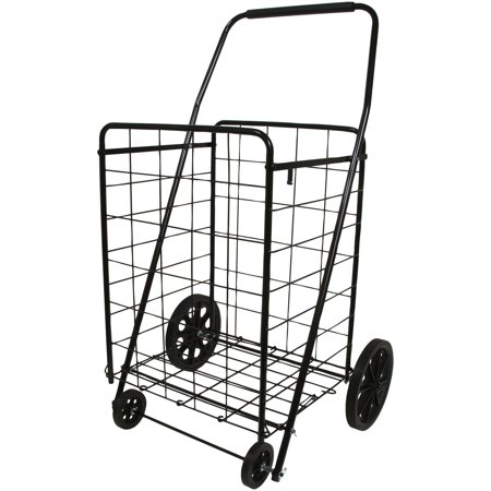 1dbd24e6990a 4-wheel Deluxe Folding Shopping Cart