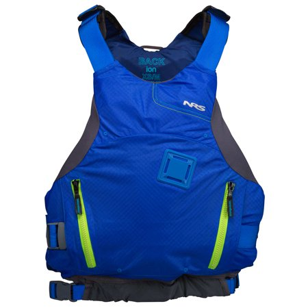 Nrs Compact - NRS Ion PFD Coast Guard Certified Floating Adult Life Jacket Vest, Blue, XL/XXL
