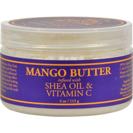 Sundial Brands Nubian Heritage  Mango Butter, 4 (Heritage Manor)