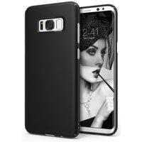 Ringke SLIM Case for Samsung Galaxy S8, Laser Precision Cutouts PC Hard Skin Cover - SF Black