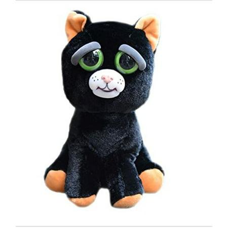 Feisty Pets Katy Cobweb (Halloween Black Cat) - Black Cat Halloween Clip Art