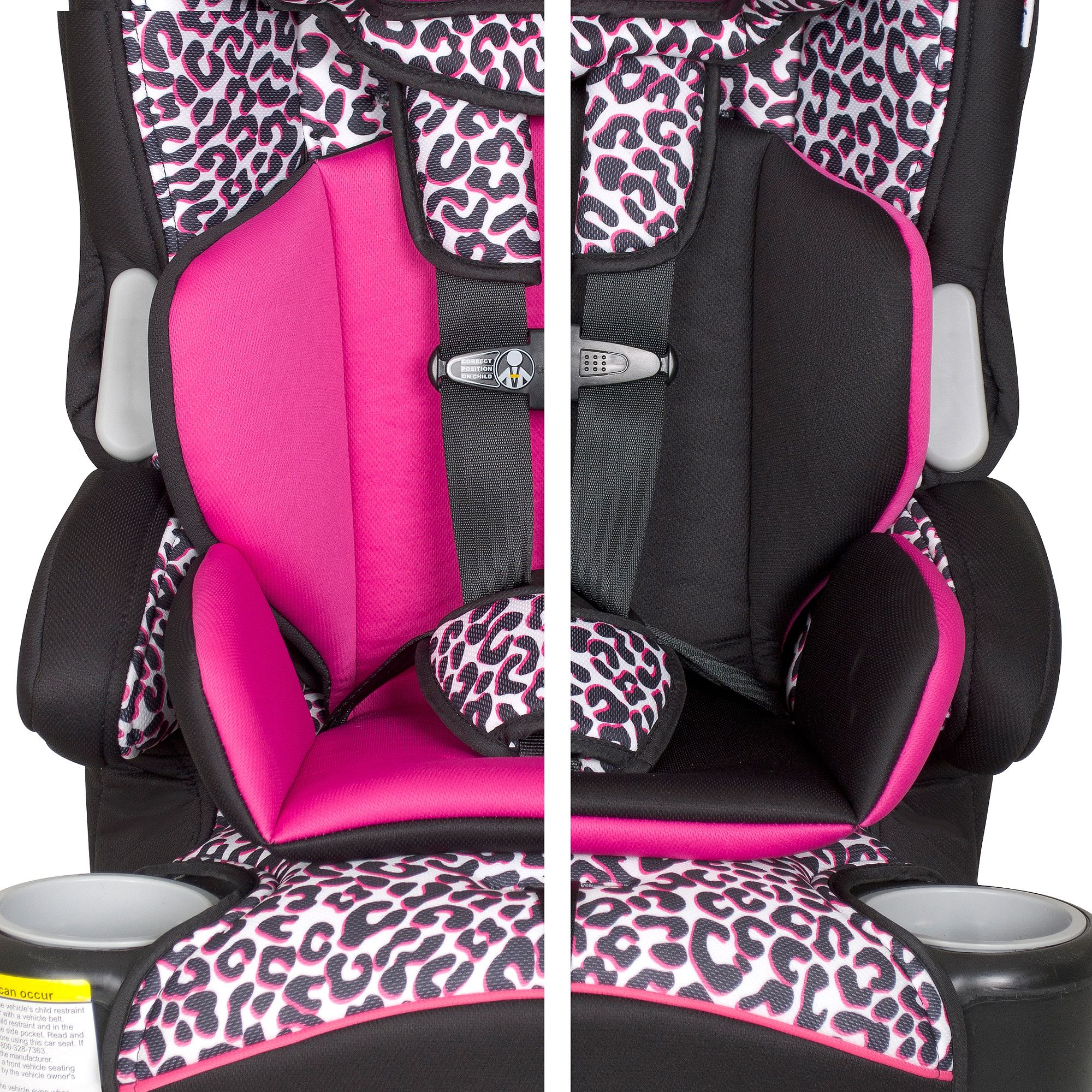 Baby Trend Hybrid LX 3 In 1 Harness Booster Car Seat Capri Breeze