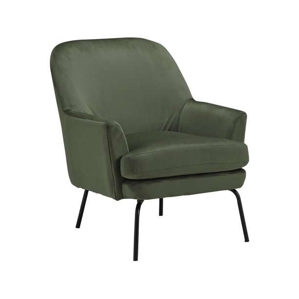 Signature Design by Ashley Dericka Moss Contemporary Accent Chair
