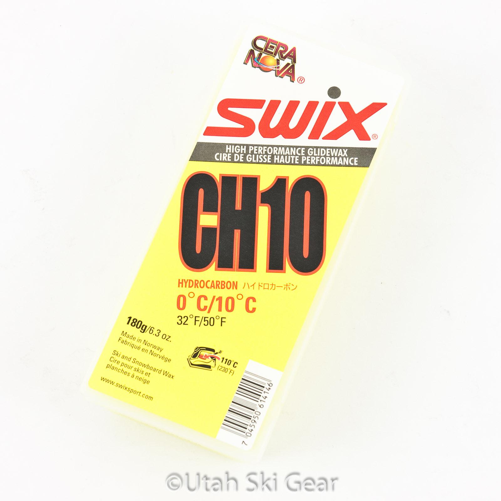 Swix Cera Nova CH10 Ski Wax – Yellow – Warm – 180g