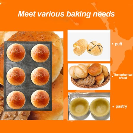 Silicone Bread Mold Non-stick Food Grade Breathable Reuseable Kitchen Bakery Mold - image 4 de 9
