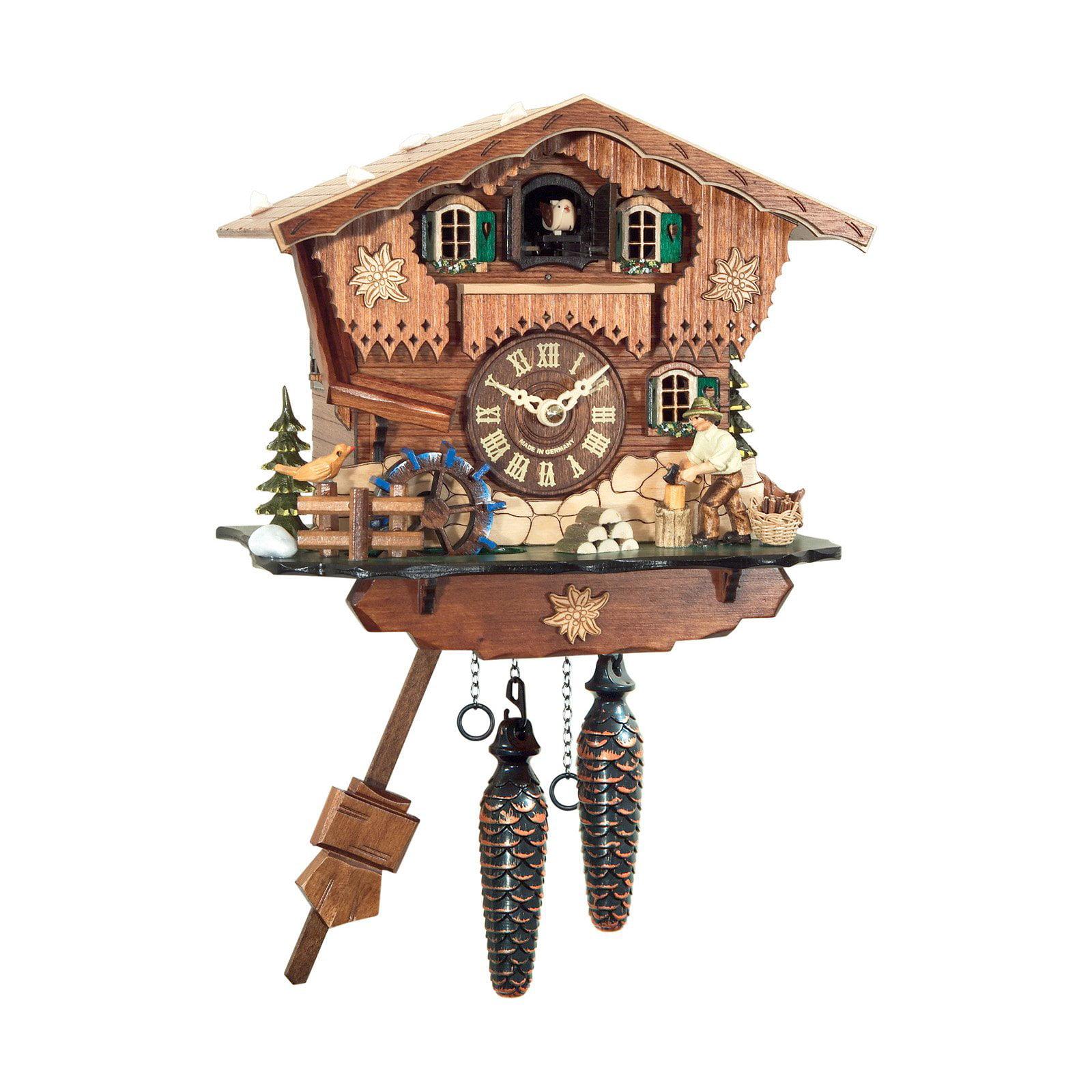 Black Forest Woodchopper Cuckoo Clock by Alexander Taron