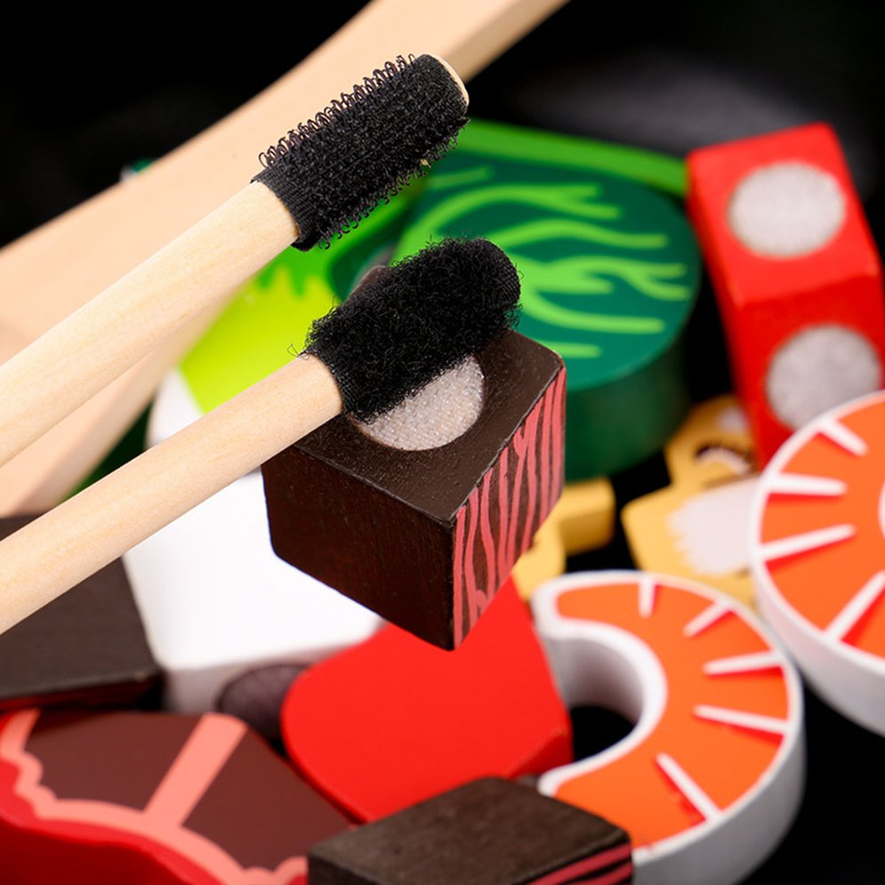 Cute Wooden Design Baby Kids Kitchen Toys Early Education...