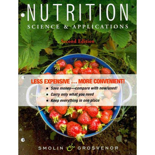 Nutrition: Science & Applications [With Paperback Book]