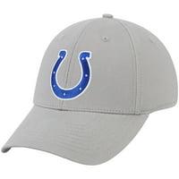 Men's Gray Indianapolis Colts Basic Adjustable Hat - OSFA