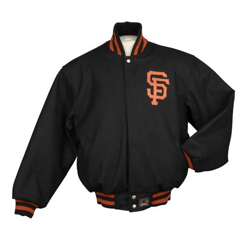 JH Designs - Men's MLB San Fransico Giants Wool Jacket
