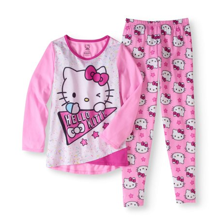 Hello Kitty Big Girls' Legging Sleepwear Set ()