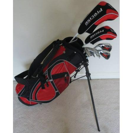 Left Handed Junior Golf Club Set Complete With Stand Bag For Kids Ages 5 8 Lh Red Color Premium Jr Walmart Com
