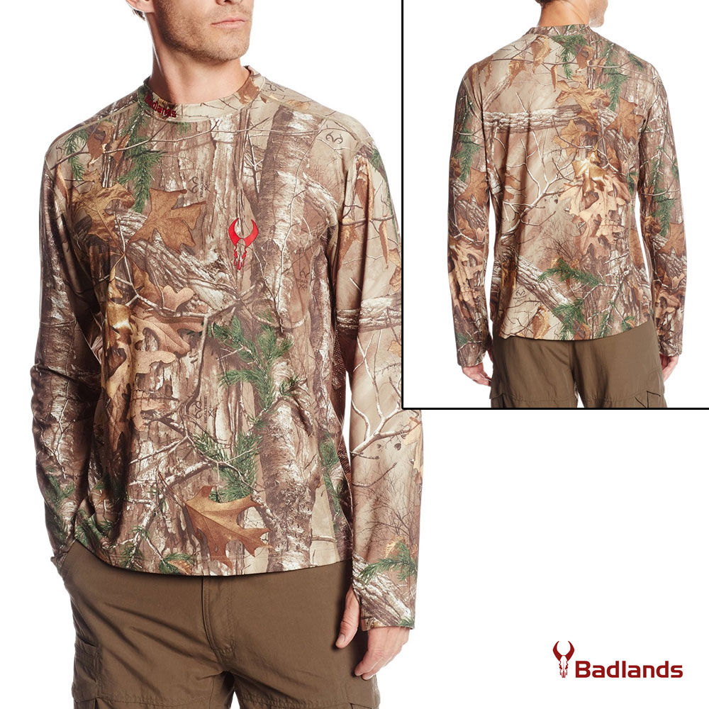 Badlands Element Base Layer Top (M)- RTX by