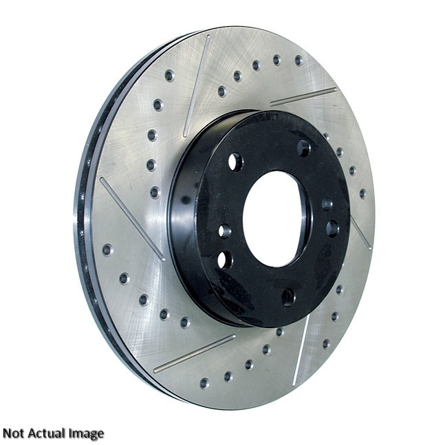 CENTRIC PARTS - SLOTTED-DRILLED