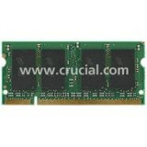 Crucial Memory 2GB CT2KIT12864AC80E DDR2 800MHz PC2-6400 200-pin SODIMM Non-ECC Unbuffered