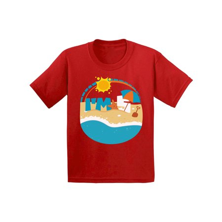 Awkward Styles Toddler B Day Shirts for Boys Shirt for Girls Beach B Day Gifts for 5 Year Old Themed Party for Kids Clothes Beach T Shirt Outfit I'm Five Gifts for 5 Year Old Birthday 5th Birthday - 5th Element Outfit