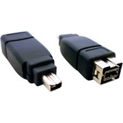 Professional Cable FireWire 900 to 400 Adapter, 9-Pin Female to 4-Pin Male