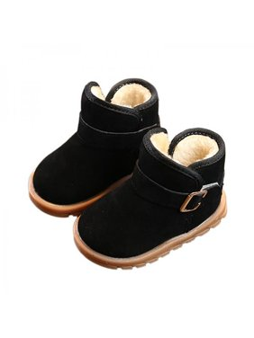 42bea37d28d09 Product Image Toddler Baby Kids Boys Girls Winter Warm Soft Sole Crib Shoes  Snow Boots 1-6Y
