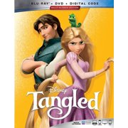 Tangled (Blu-ray + DVD + Digital Copy)