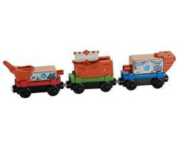 Fisher Price Thomas the Train Wooden Railway Pirate Ship Delivery Train Set by Fisher-Price
