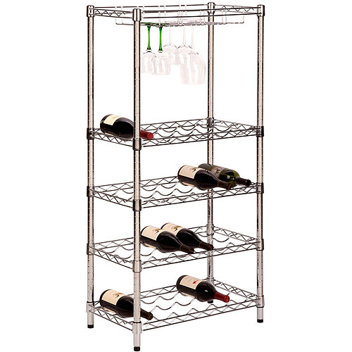 Honey-Can-Do 5-Tier Wine Rack