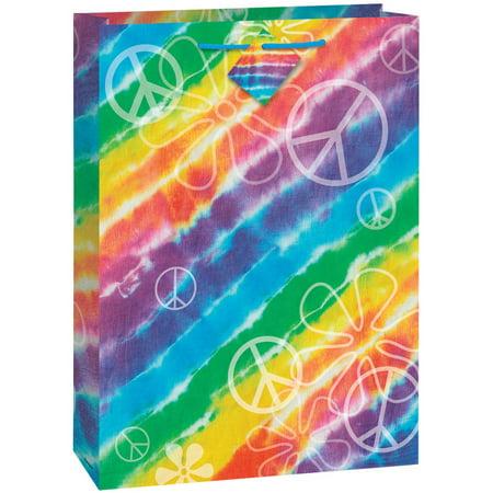 Jumbo Rainbow Tie Dye Gift Bag](Jumbo Plastic Gift Bags)