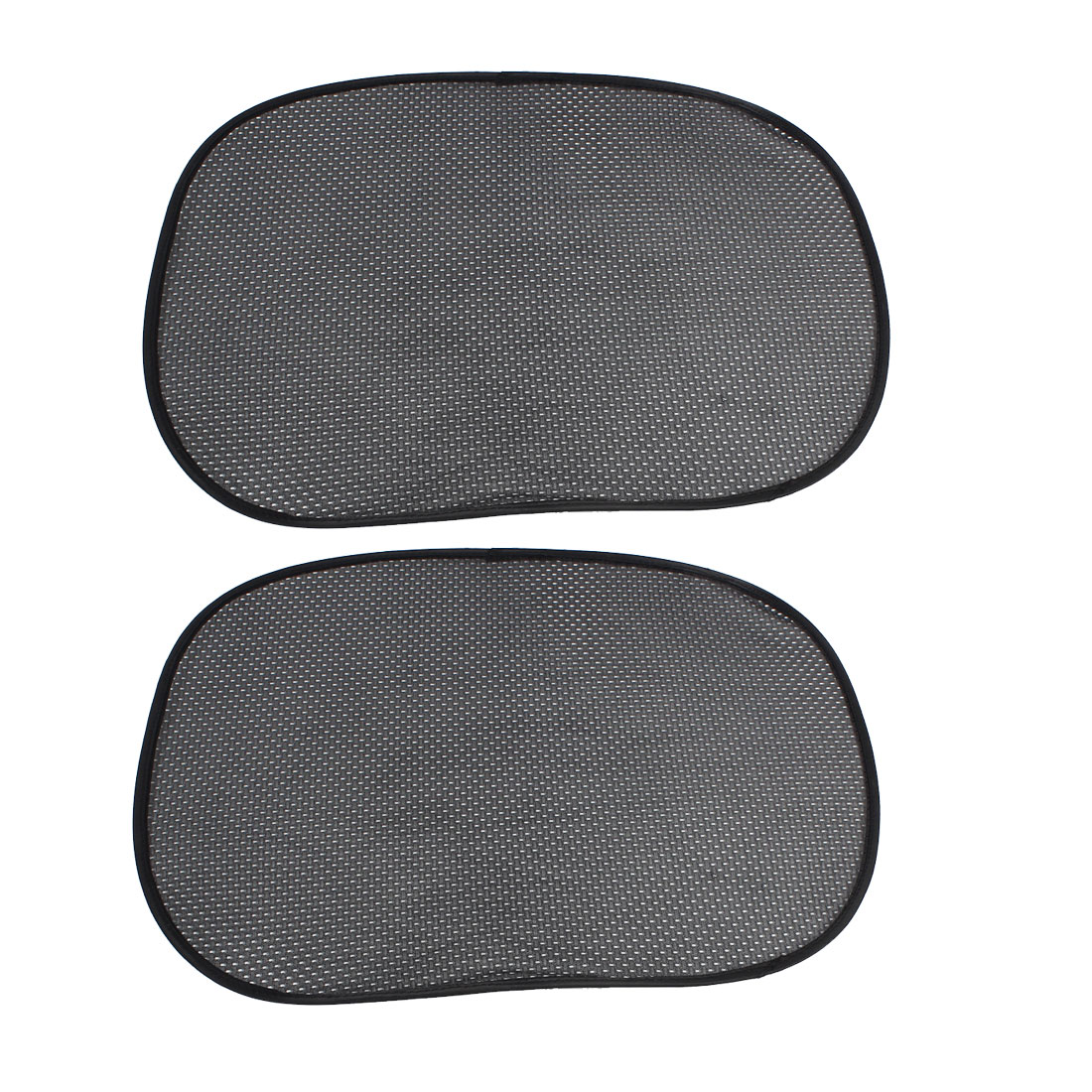 "2Pcs 22"" x 17"" Meshy Collapsible Car Side Window Sun Shade UV Protection Black for Baby"
