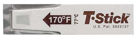 Click here to buy SAN JAMAR Food Thermometer Strips,170 Deg,PK250 TST9345 by SAN JAMAR.
