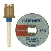 Dremel EZ404-01 EZ Lock Mandrel and Metal Wheel Set for Rotary Tools