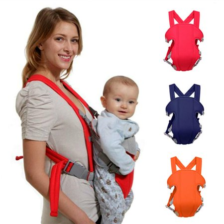 Costyle Soft Infant Newborn Baby Carrier Backpack Rider Sling ,Red